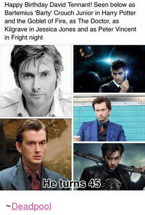 Harry Potter Firetruck Meme - happy birthday david tennant seen below as bartemius