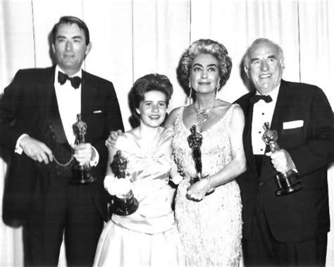 who won best actress oscar for whatever happened to baby jane gregory peck patty duke joan crawford and ed begley bask
