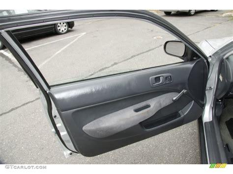 1999 honda civic cx coupe gray door panel photo 52609565