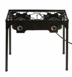 Ebay Cooktops Propane Stove 2 Burner Gas Outdoor Portable Camping Bbq