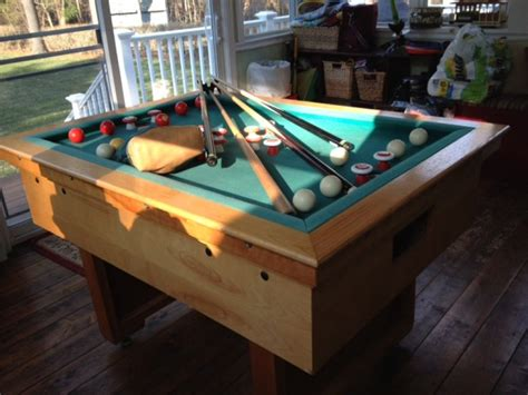 slate bumper pool table massachusetts mansfield games items  sale deal classified ads
