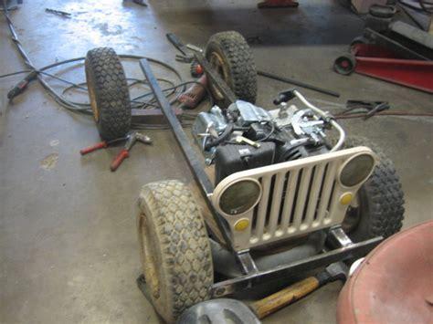 Mini Jeep Build Amazing Mini Gocart Wwii Willys Jeep Replica