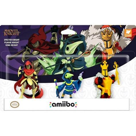 amiibo   Shovel Knight: Treasure Trove Figures (3 Pack
