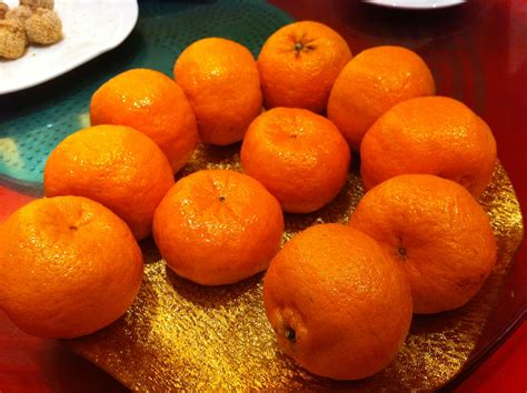 new year oranges exchange delicious foods to eat during new year