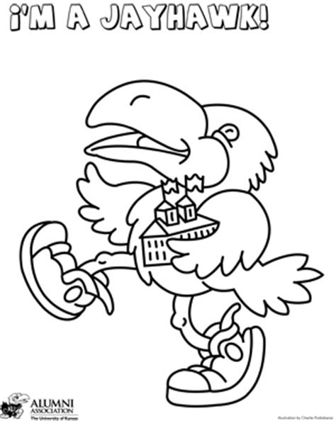kansas jayhawks coloring pages coloring pages