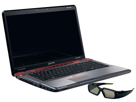 toshiba s new gaming flagship laptops qosmio x770 x770 3d