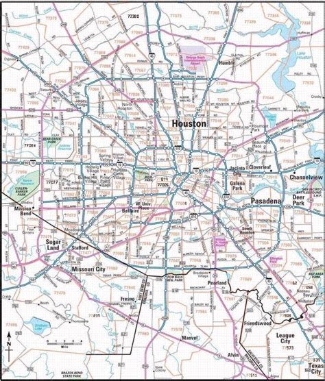printable zip code map houston tx image gallery houston zip code map