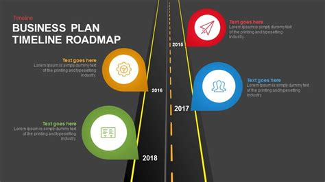 template business plan keynote business plan timeline roadmap keynote and powerpoint