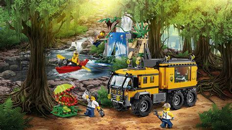 Lego City 60160 Jungle Mobile Lab official lego malaysia 60160 lego 174 city jungle mobile lab brickmagic asia