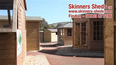 skinners sheds wyevale garden centre in findon west