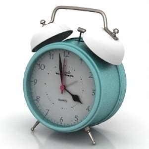 quartz alarm clock 3d model free 3d models id4484 3ds gsm open3dmodel