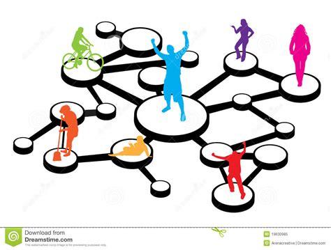 social media connections diagram royalty free stock photo