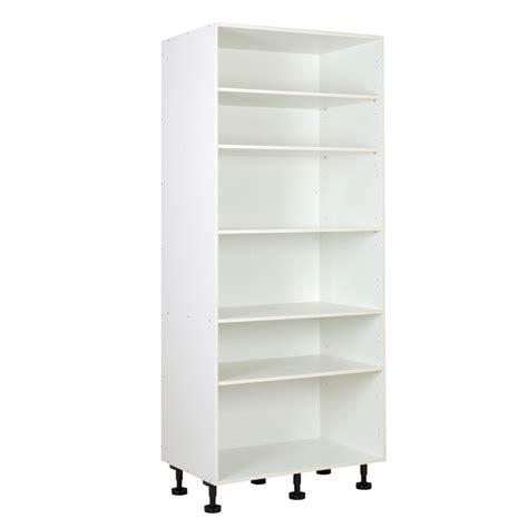 kitset kitchen cabinets kaboodle kitset white 900mm pantry carcase bunnings