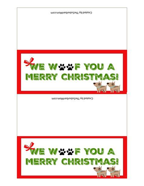 printable dog bone gift tags dog treat christmas gifts for dogs free printable