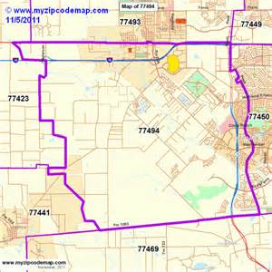 search results for map of zip code areas in houston