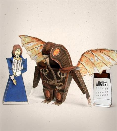 Bioshock Papercraft - pin by jen yates on papercraft