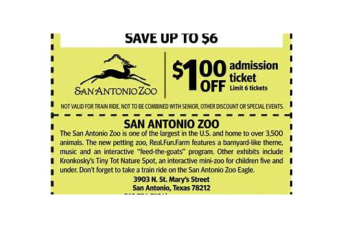 audubon zoo discount coupon code