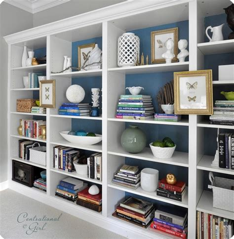 how to achieve a well styled bookcase burger