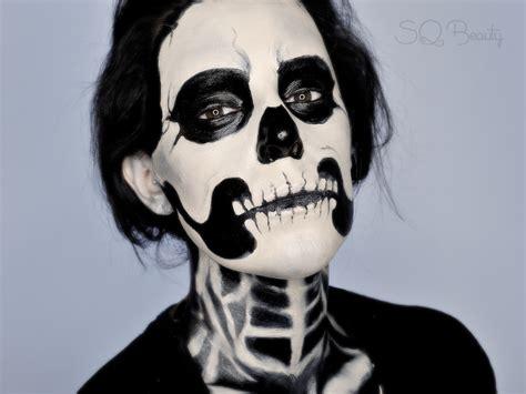 maquillaje para hombres esqueleto skeleton makeup tutorial step by step mugeek vidalondon