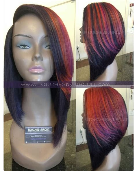 quick weave bob cute hairstyles and colors i love weave bobs with color www pixshark com images