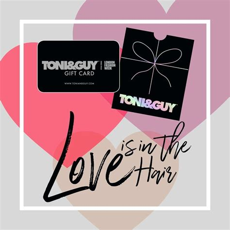 Toni And Guy Gift Card - gift cards now available at toni guy the rock bury shopping centre