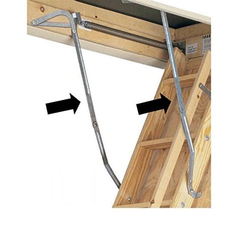 how to fix attic door hinge werner 55 1 attic ladder replacement hinges import it all