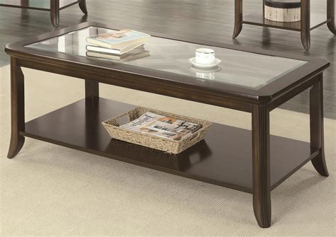 Brown Glass Coffee Table Coaster Roy 702358 Brown Glass Coffee Table A Sofa Furniture Outlet Los Angeles Ca