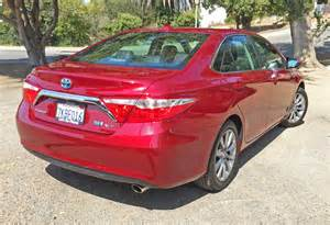 Toyota Camry Xle Hybrid 2016 Toyota Camry Xle Hybrid Test Drive Review The