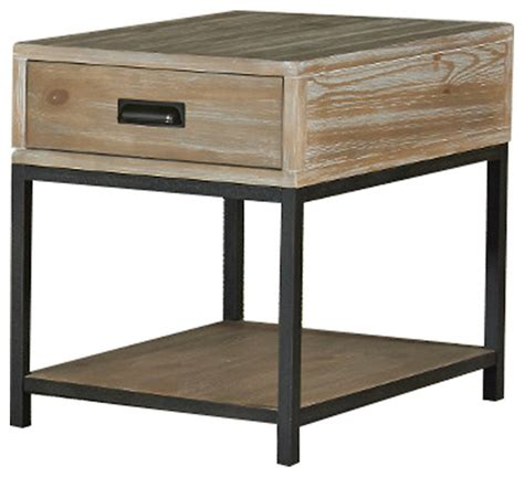 Parsons Tables With Drawers by Parsons Rectangular Drawer End Table Farmhouse Side