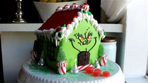 how house how to make the grinch gingerbread house video myrecipes