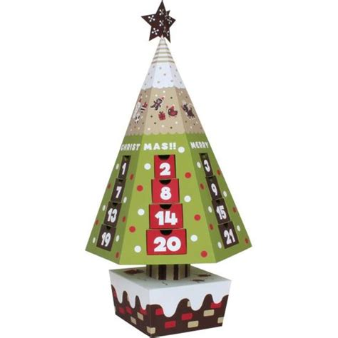 Canon Printable Paper Crafts - canon papercraft tree calendar free template