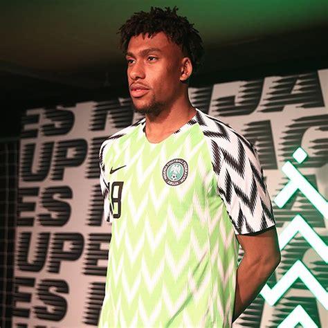 camisetas nike de nigeria mundial 2018 planeta fobal