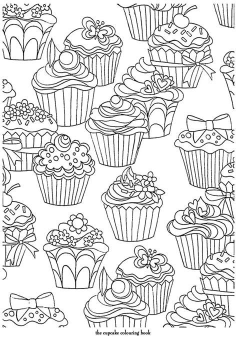 coloring pages for adults cupcakes art th 233 rapie mille et une nuits 100 coloriages anti