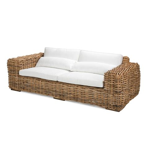 3 seater rattan sofa santa three seater sofa rattan rattan sofas rotin design
