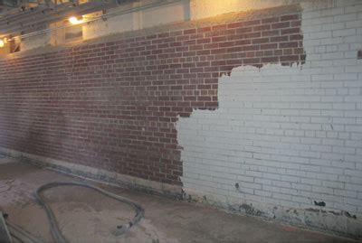 Cleaning Interior Brick by The Soda Pro Soda Blasting Brick De Painting Brick