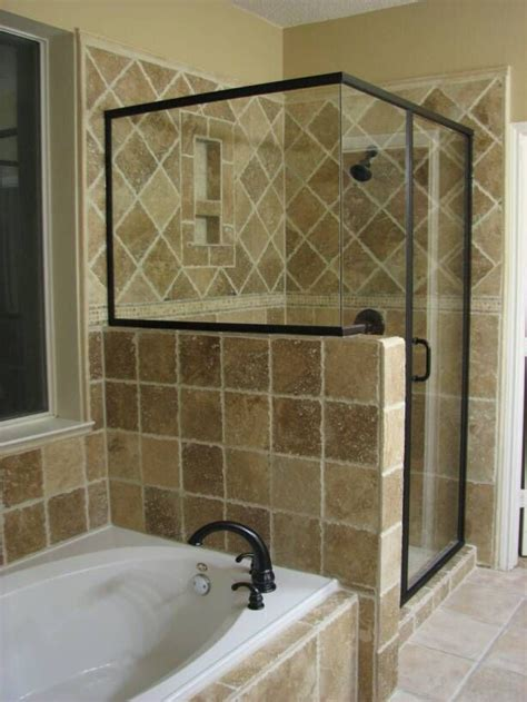 15 sleek and simple master master bathroom shower ideas information