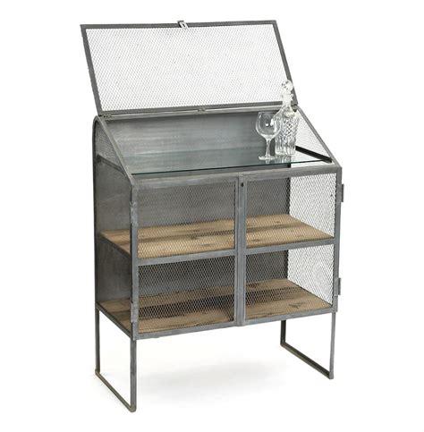 Industrial Style Bar Cabinet Bachelors Industrial Loft Bureau Bar Wine Cabinet Kathy Kuo Home