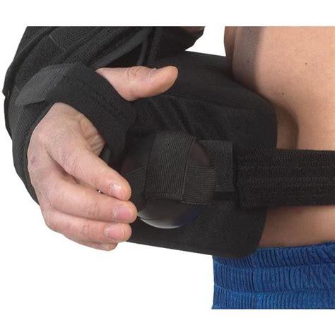 Abduction Pillow Shoulder by Bilt Rite Black Shoulder Immobilizer With Abduction Pillow