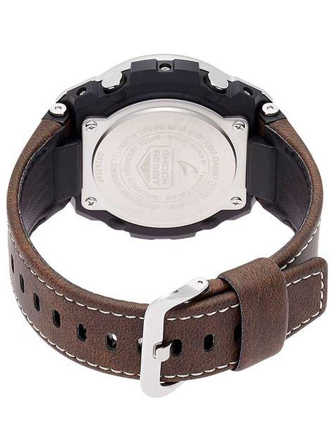 G Shock Gst W100d 1aer casio g shock brown leather gst w130l 1aer