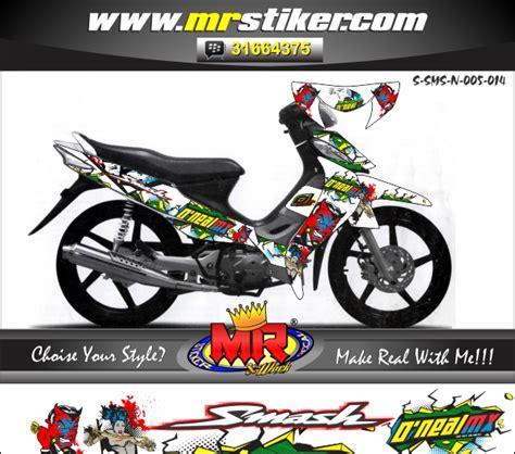Decal Crf 150 Kode 001 005 spin sikspak stiker motor striping motor suka suka decal motor mr stiker