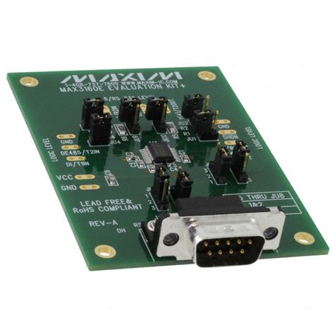 maxim integrated products reading max3160eevkit maxim integrated development boards kits programmers digikey