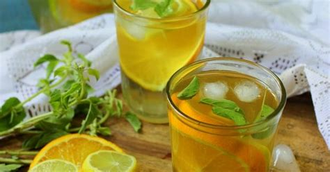 Detox With Green Tea Parsley And by Check Out Iced Green Tea Citrus Detox Drink It S So