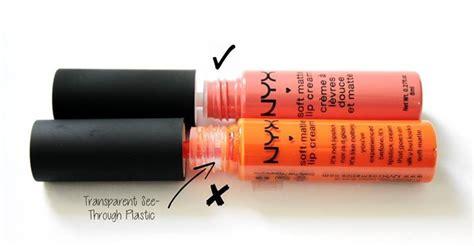 Nyx Asli cara membedakan nyx soft matte lip asli dan palsu