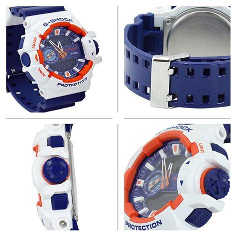 G Shock Ga 400 Orange Blue casio g shock ga 400cs 7a mens white blue orange free shipping dealextreme