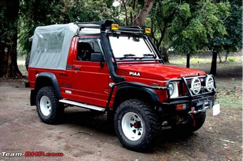 5 Maruti Suzuki Gypsy Modification Ideas