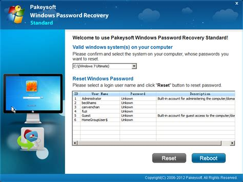 windows password reset software full version free download recover windows 7 password information and download of
