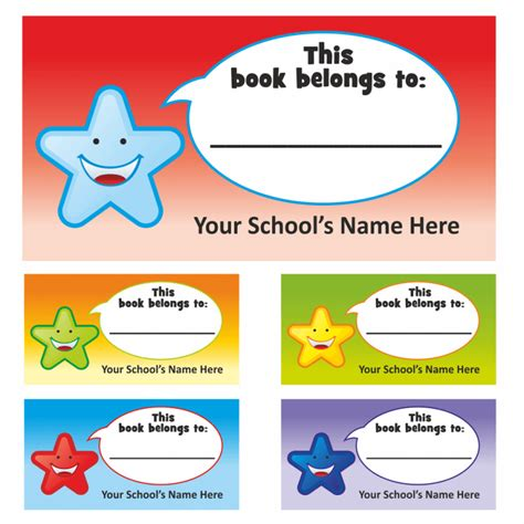 sticker book template this book belongs to stickers labels for teachers