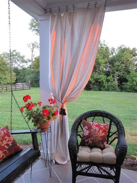 drop cloth outdoor curtains 17 best images about patio on pinterest drop cloth