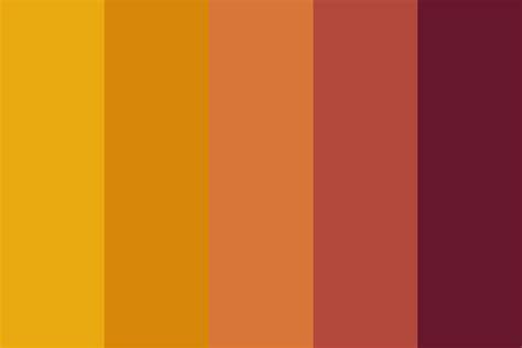 tiger colors tiger color palette
