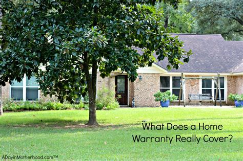 what does a home warranty really cover